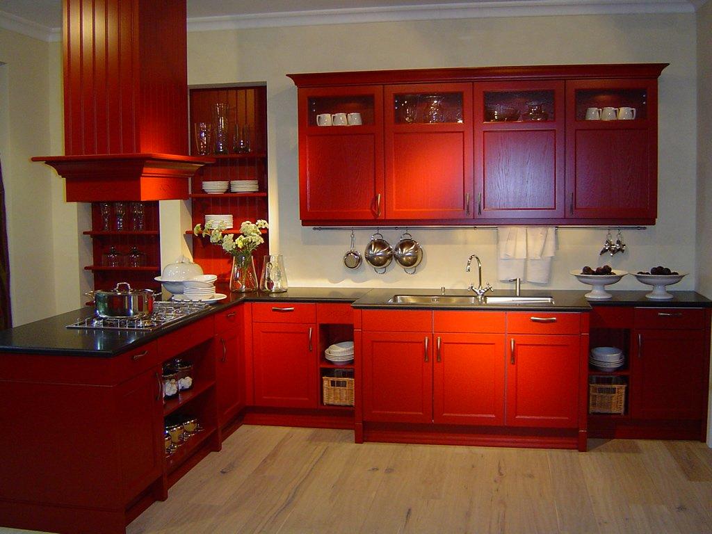 cool red white kitchen design | Kitchen Ideas | Creative Kitchens - Lacewood Designs ...