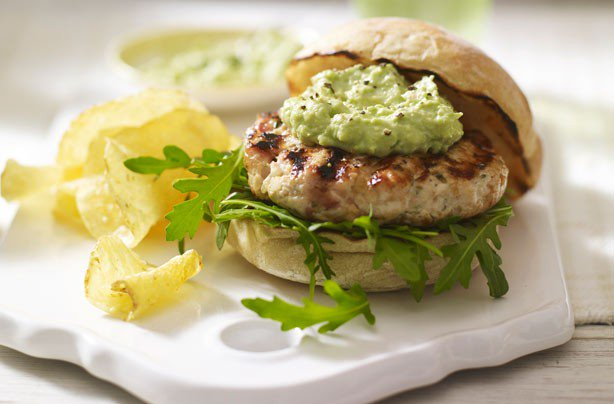 Easy healthy chicken burger recipes