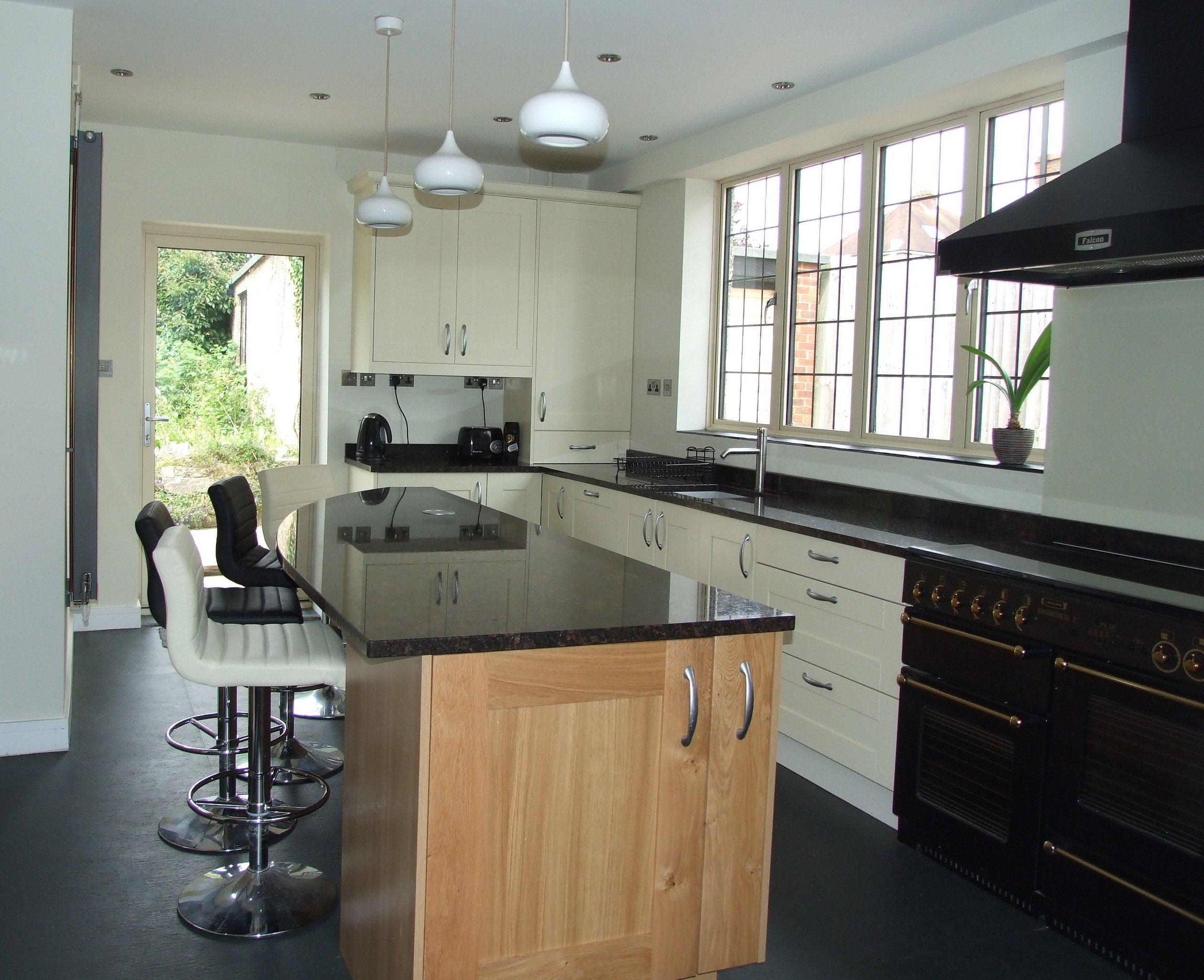 Contrasting Kitchen Cabinets Our Latest Work Salisbury