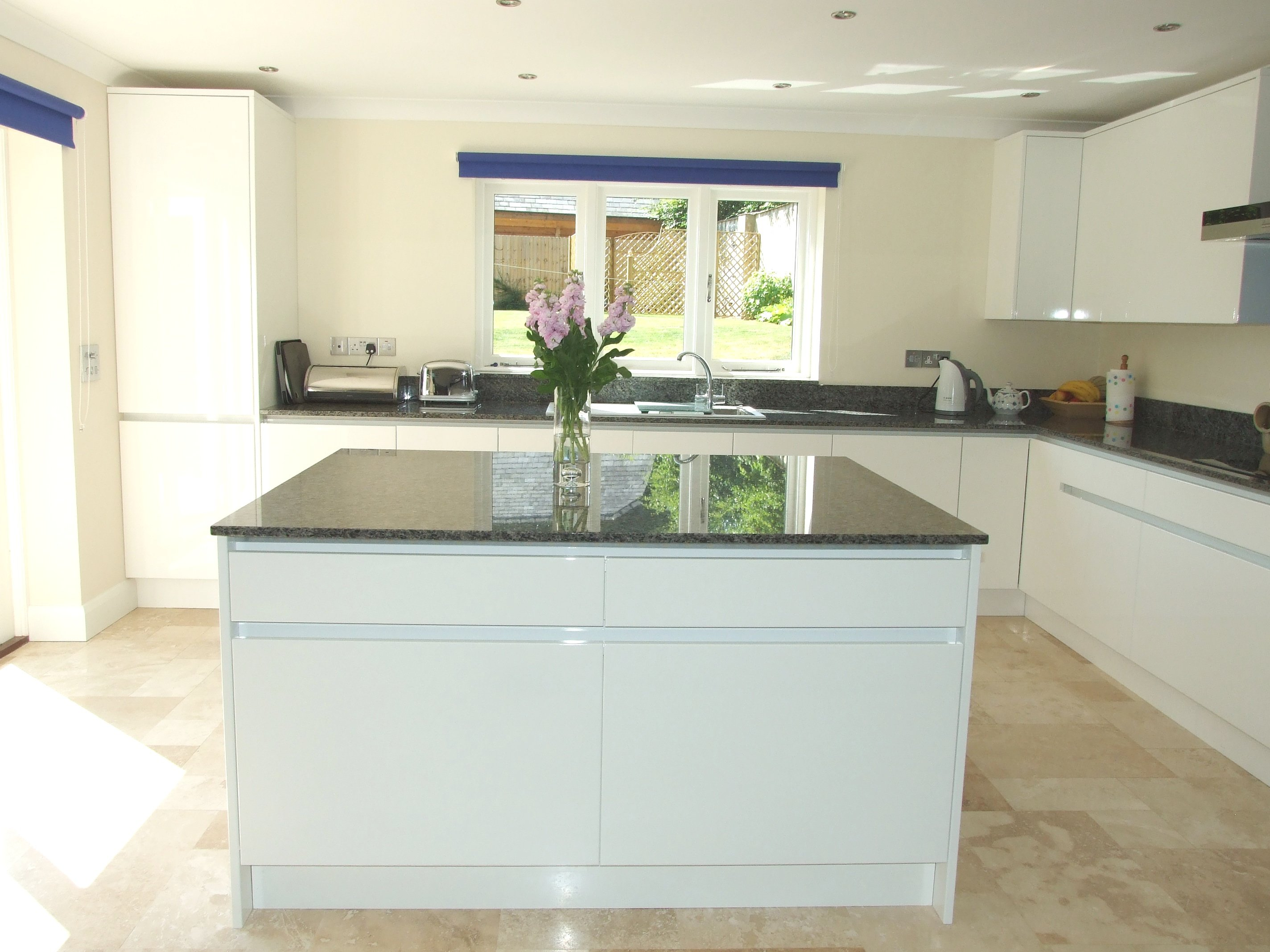 Gloss White Kitchen - Our latest work