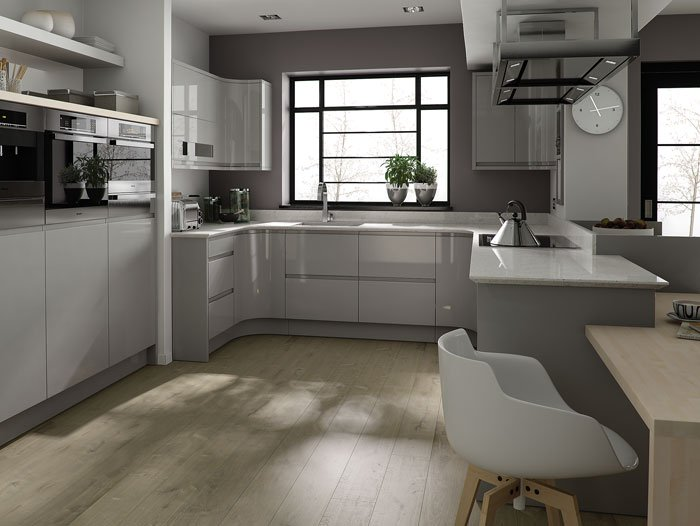 handleless kitchen doors new colour range lacewood designs